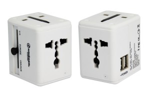 KRIEGER® Universal Worldwide All-in-one Travel Charger Adapter Plug